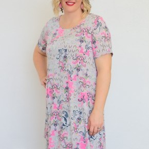 Think About Me Paisley Dress - Sizes 12-20