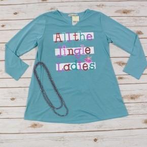 All The Jingle Ladies Long Sleeve Shirt