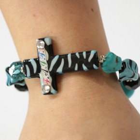 Faith's Touch in Turquoise Bracelet