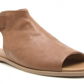 Show Me The Way Open Toe Sandals in Camel