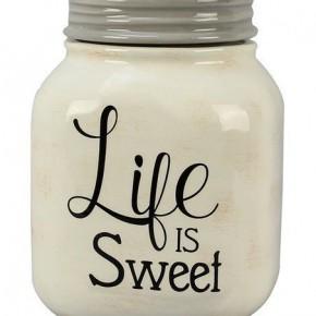 Life Is Sweet Jar