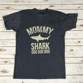 Mama Shark Graphic Tee