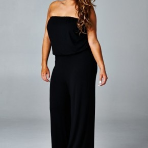 Filled With His Glory Strapless Jumper In Black - Sizes 4-20
