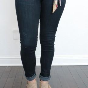 The Kalyn Skinny Dark Denim Jean - Sizes 0-15