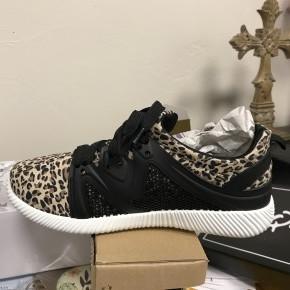Leopard Sneaker - Size 9 Only