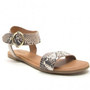 Know The Way To You Sandals - Snakeskin