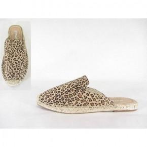 Walkin' Your Way Leopard Espadrille Slip On