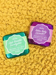 Savor the Moment Shower Fizz with Gems Inside in Multiple Scents