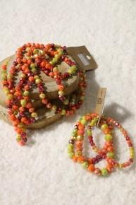 Sunset Point Of Perfection Bundle & 3 Strand Beaded Bracelet