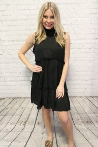 Glorify The Name Of All Tank Ruffle Dress - Multiple Colors - Sizes 4-18