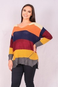 All The Way Home Striped Sweater- Sizes 4-12