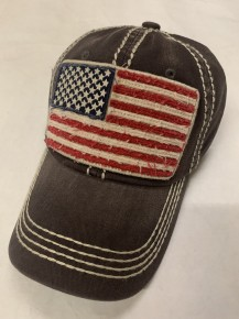 This American Flag Gray Hat