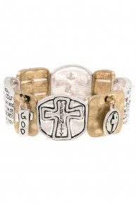 So Much More Cross Serenity Bracelet In Multiple Colors