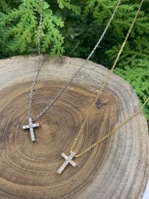 Forever Faithful Cross Necklace