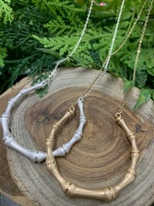 With a Bang Bone Necklace
