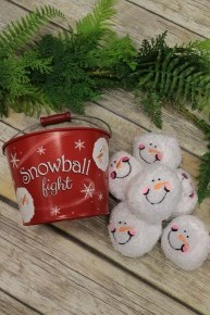 Indoor Snowball Fight In Multiple Colors