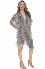This Is It Snakeskin Kimono ~ One Size Fits Most 4-20