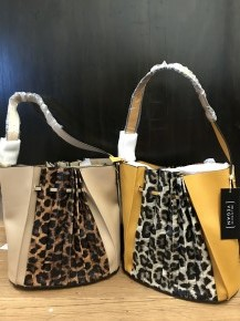 Make an Appearance Pleated Leopard Purse in Multiple Colors