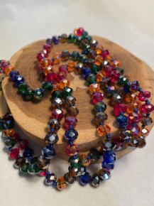 Point Of Perfection Beaded Necklace In Fall Skies