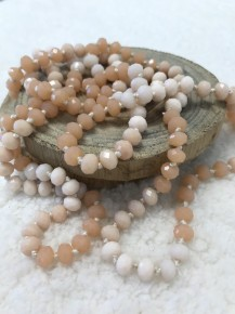 Point Of Perfection Necklace In Desert Sand