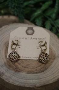 Feeling Good Leopard Dangle Earrings