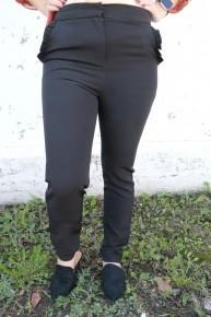 Sleek Into Fashion Slacks With Ruffle Pocket - Multiple Colors
