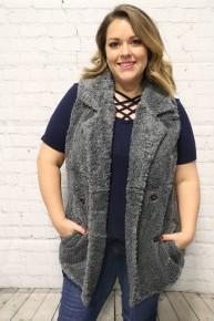 Furry & Warm Faux Fur Vest - Multiple Colors - 4-20