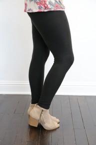 Full Length Fleece Leggings - Multiple Colors - Sizes 2-12