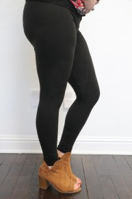 Full Length Fleece Leggings - Multiple Colors - Size 12-20