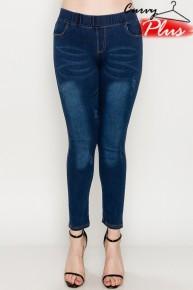 Blue Jean Baby Denim Jeggings - Sizes 12-20