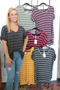 My Favorite Striped Top in Multiple Colors - Sizes 4-20