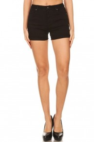 Name It Black Shorts With Distressing- Sizes 4-10