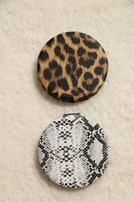 Wild Time Pocket Mirror In Multiple Prints
