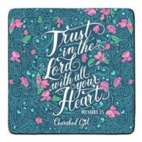 Trust in The Lord Drink Coasters - Set of 2