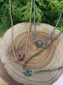 Like a Stone Beaded Necklace