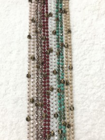 Your New Favorite Beaded Necklace With A Hint Of Leopard