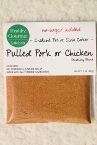 Pulled Pork or Chicken Instant Pot or Slow Cooker Seasoning- 1oz *Final Sale*