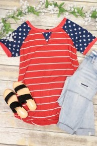 Party In The USA Top In Red