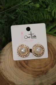 Tonights The Night Pearl Earrings