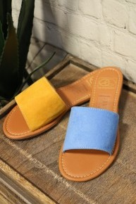 Summer Time Fun Sandals In Multiple Colors