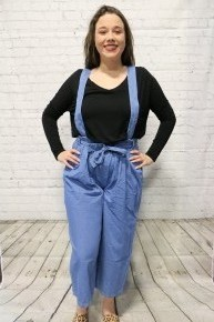 In Love With Friday Overall Pants In Multiple Shades Sizes 4-10