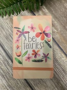 Be Fearless Pocket Notepad