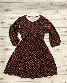 Couldn't Have Been Better Red Plaid Sizes 6-18