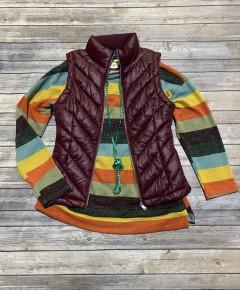 Safe To Say Multicolor Striped Fashion Box - Sizes 4-10