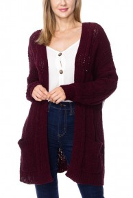 Altogether We Can Cable Knit Soft Cardigan - Sizes 4-10