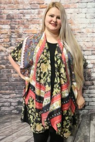 In The Moment Floral Kimono In Multiple Colors- One Size