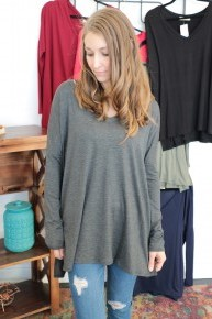 Around Forever Piko Style V Neck In Multiple Colors- Sizes 4-20