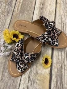 Lovin' Summertime Sandals w/ Criss Cross Knotting