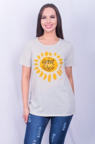 Good Vibes & Sunshine Graphic Tee - Sizes 4-20