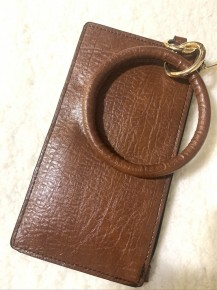 Dream About You Key Ring Clutch In Brown